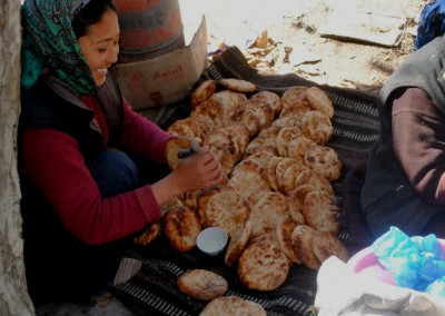 Ladakhi local bread
