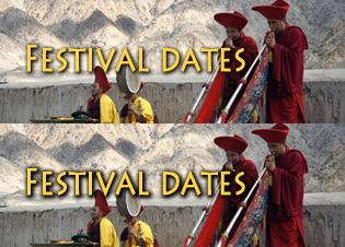 Festival-dates