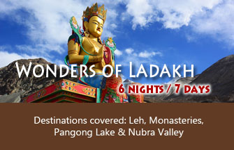 Wonders of Ladakh tour package
