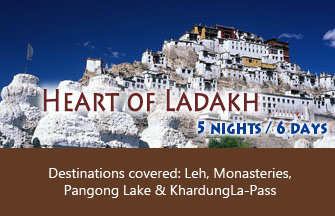 Heart of Ladakh tour package
