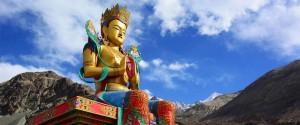 Bouddha in Diskit