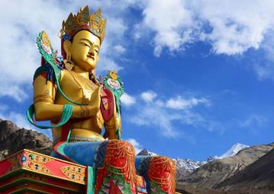 Nubra Valley (Diskit Bouddha)