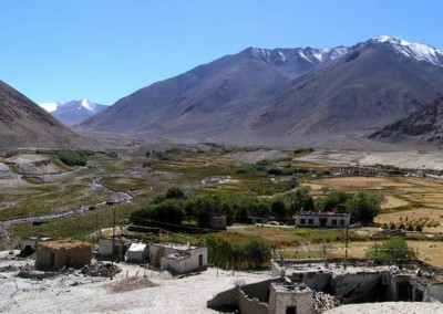 Ladakhi village (Shachukul)
