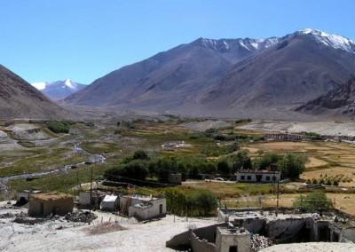 Ladakhi village (Shachukul)
